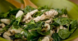 Chicken Salad with Kefir